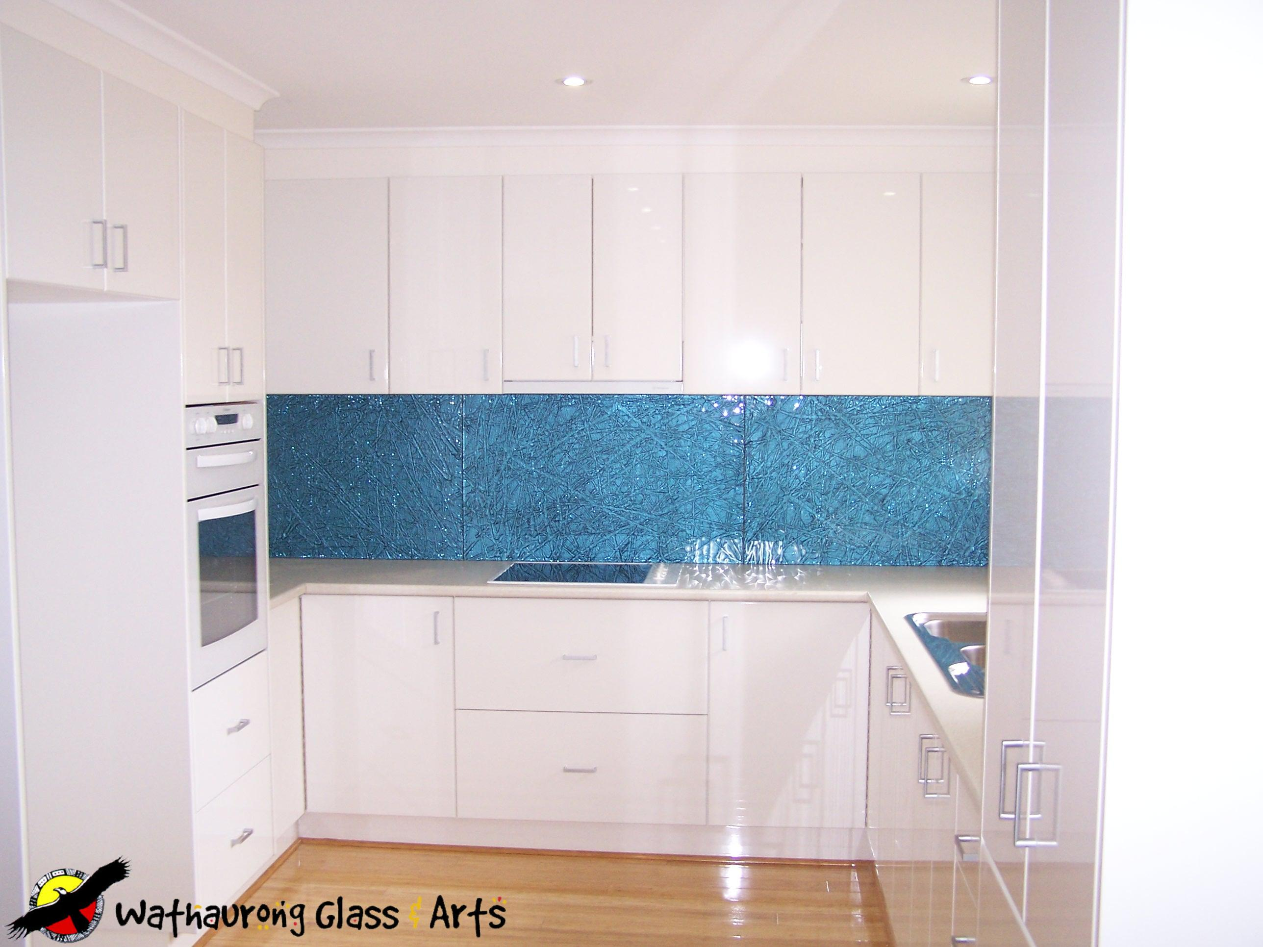 Geelong Kitchen Splashback - Wathaurong Glass