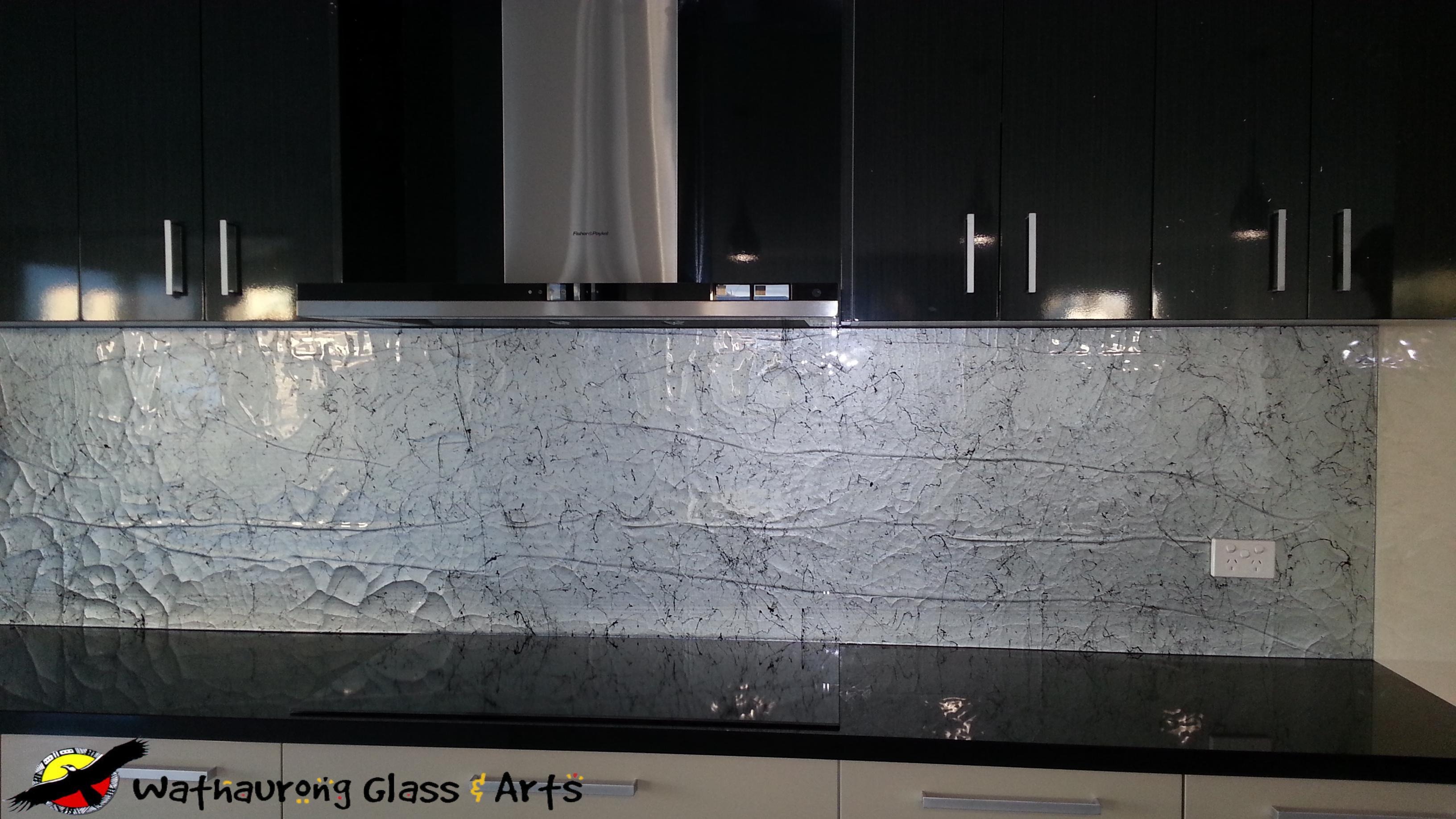 Black Splashback Kitchen Geelong Kitchen Splashback Wathaurong Glass