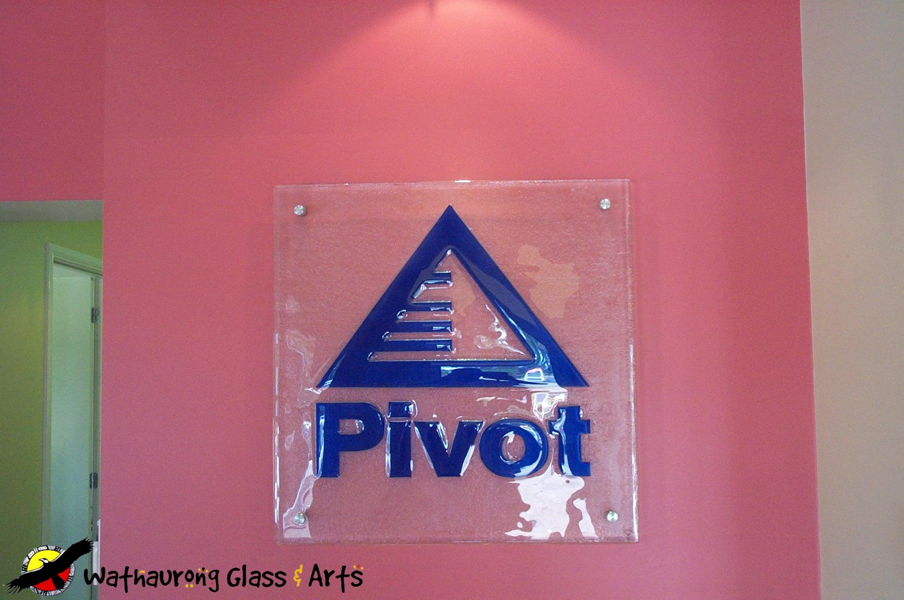 Glass Signs And Wall Mounted Plaques Wathaurong Glass
