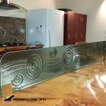 Free Standing Kitchen Splashback