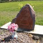 glass headstone plaques
